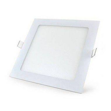 Luminária Painel Plafon LED 24W de Embutir Quadrado 30x30 Branco Quente