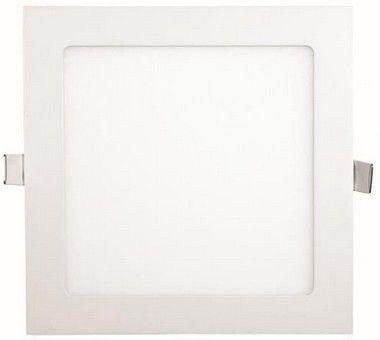 Luminária Painel Plafon LED 18W de Embutir 22x22 Branco Morno
