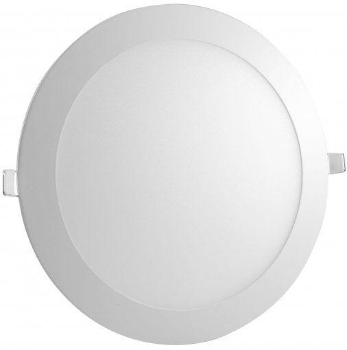 Luminária Painel Plafon LED 24W de Embutir 30x30 Branco Morno