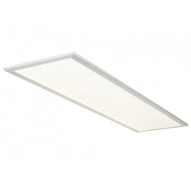 Luminária Painel Plafon LED 24W de Embutir 32X62 Branco Frio