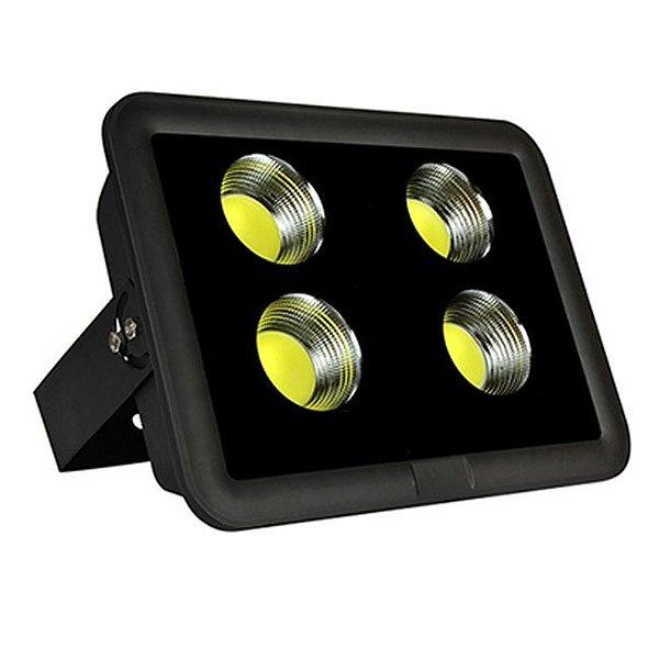 Refletor Holofote De LED Com Lente 400W - Branco Frio - IP65