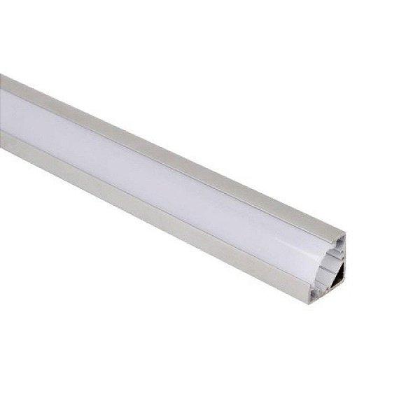 Perfil para Fita LED de canto em V  2 Metros