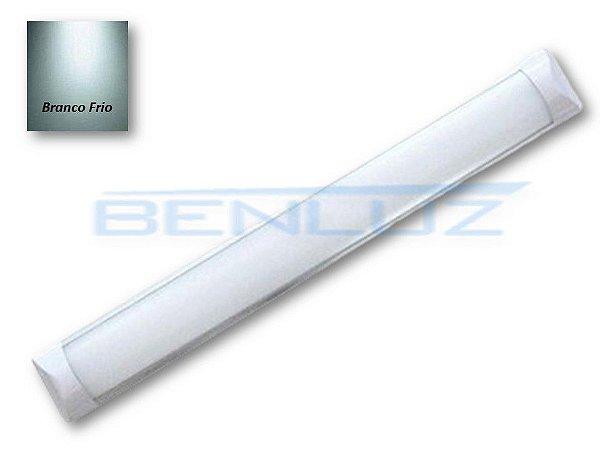 Luminária LED Linear de SOBREPOR  45W - BRANCA FRIA 150CM