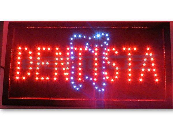 Painel Letreiro LED Sing - Dentista