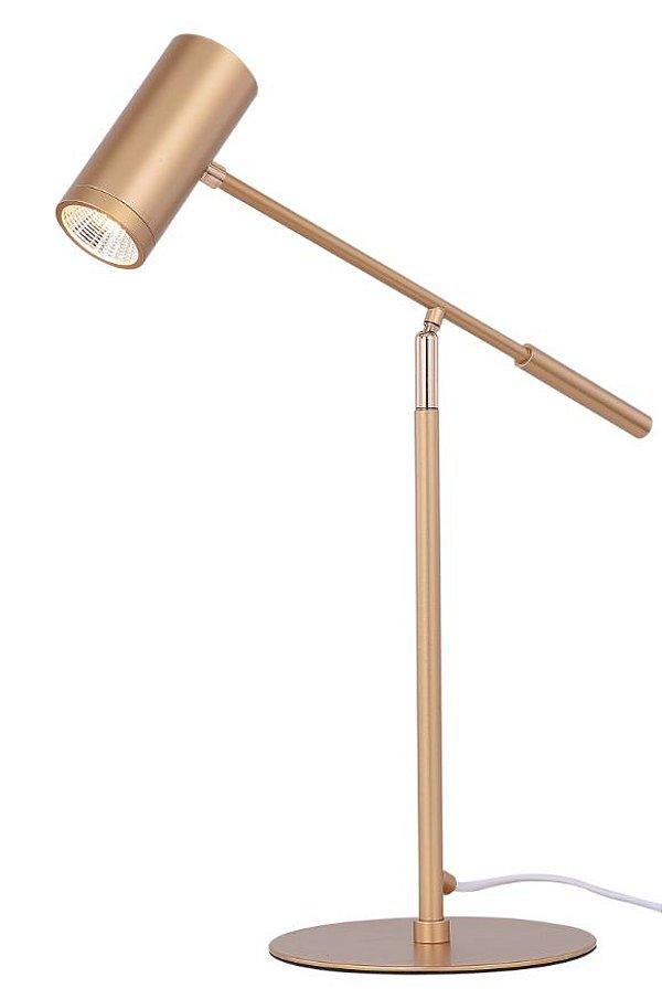 Abajur 38×18×50cm Metal Dourado Gu10×1
