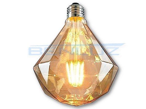 Lâmpada LED 7W G80D Filamento Bivolt