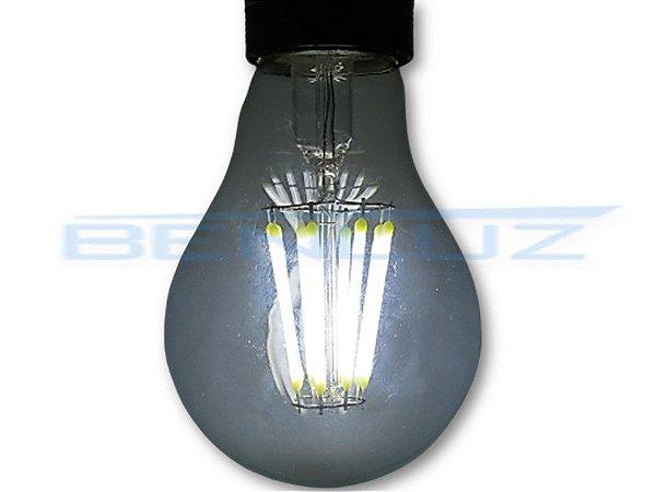 Lâmpada Bubo LED 8W A60 Filamento Branco Frio Bivolt