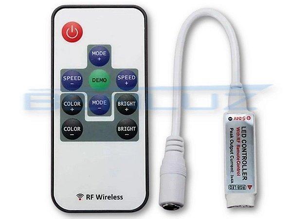Controle Rf Wireless Controlador para Fita RGB