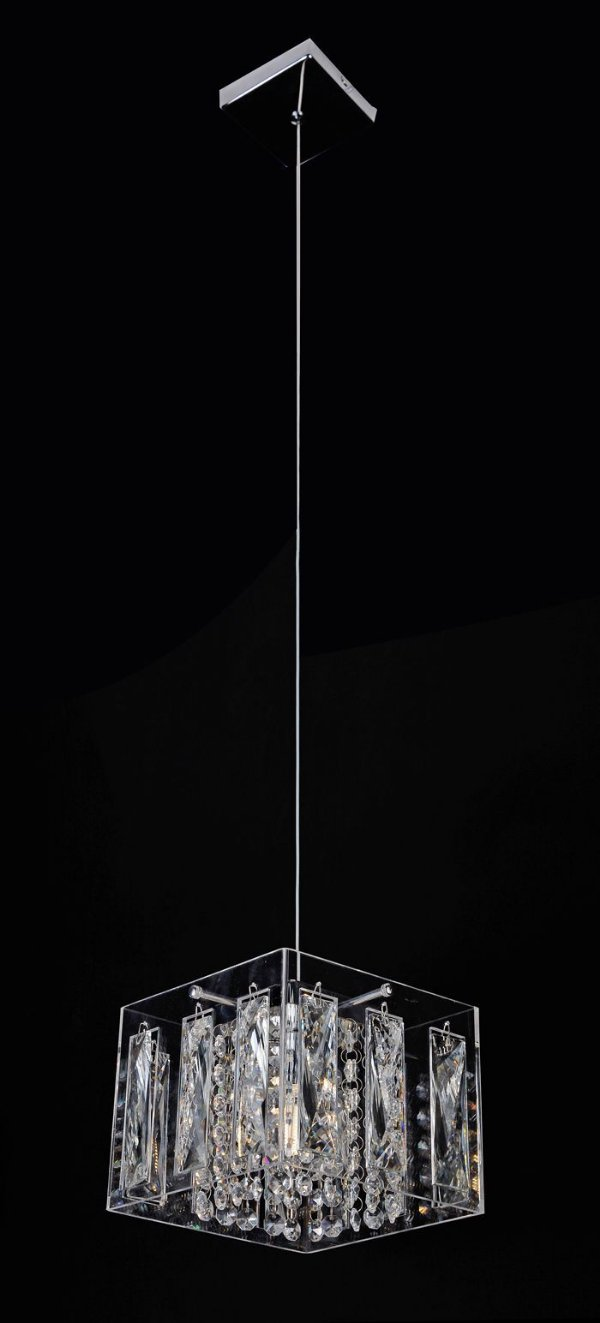 Pendente C18×l18cm Cristal G9×1