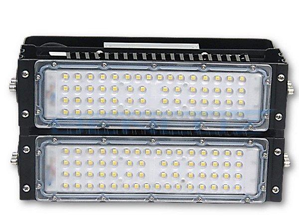 Refletor LED Modular 100W Branco Frio A Prova d' água