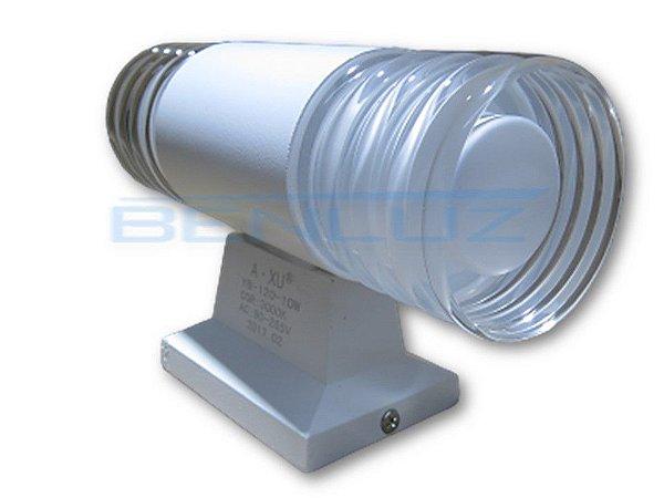 Luminária LED Arandela 10W Branco Quente 3000K