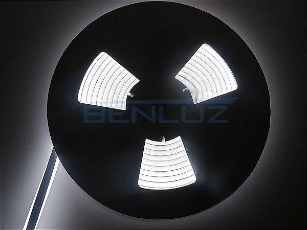 Mangueira Neon de LED Dupla 5 Metros Branco Frio 12V