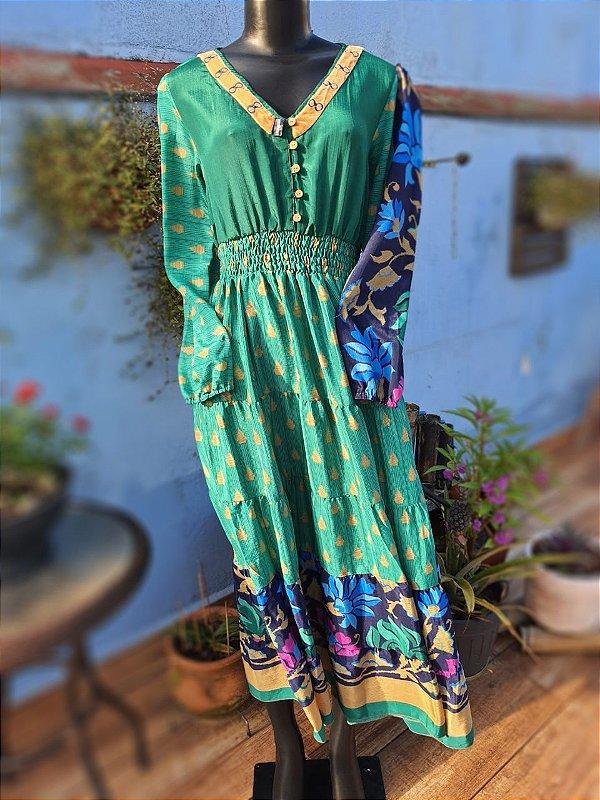 Vestido Infinito Verde Floresta