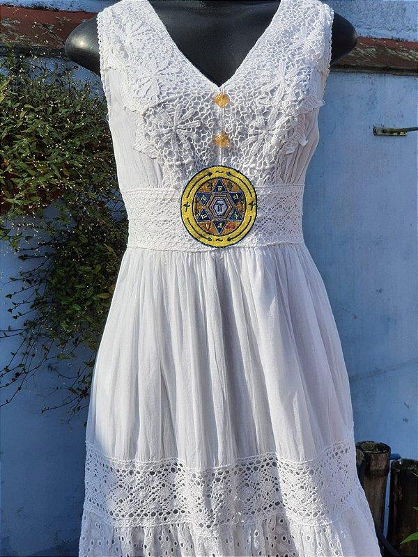 Vestido MAKX MONEY SO MI Branco (modelo único) P