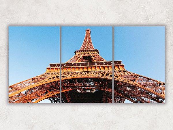 Tela Mosaico Torre Eiffel 02