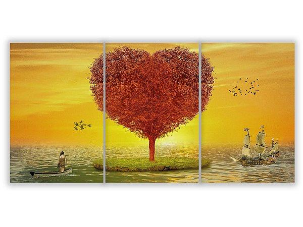 Tela Mosaico Ilha do Coração