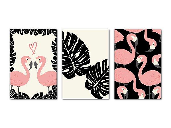 Composição Flamingos