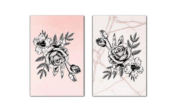 Composição Rosas Escandinavas
