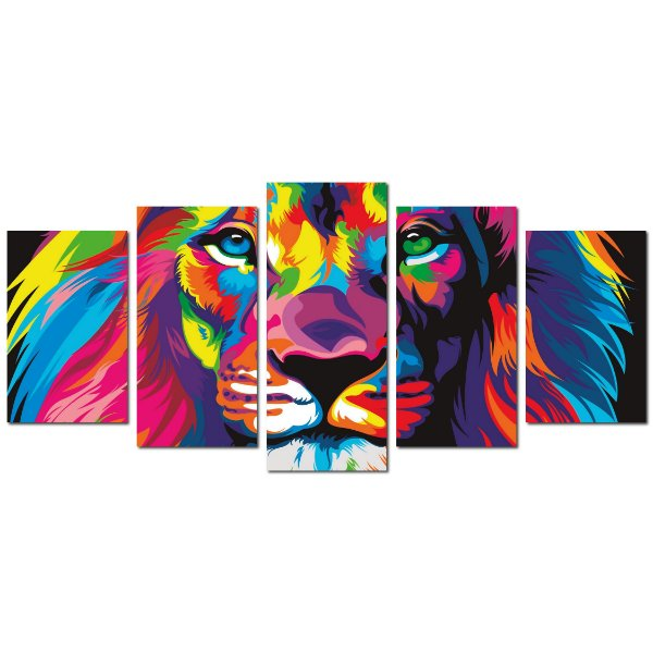 Leão de Judá (Mosaico 5 peças)