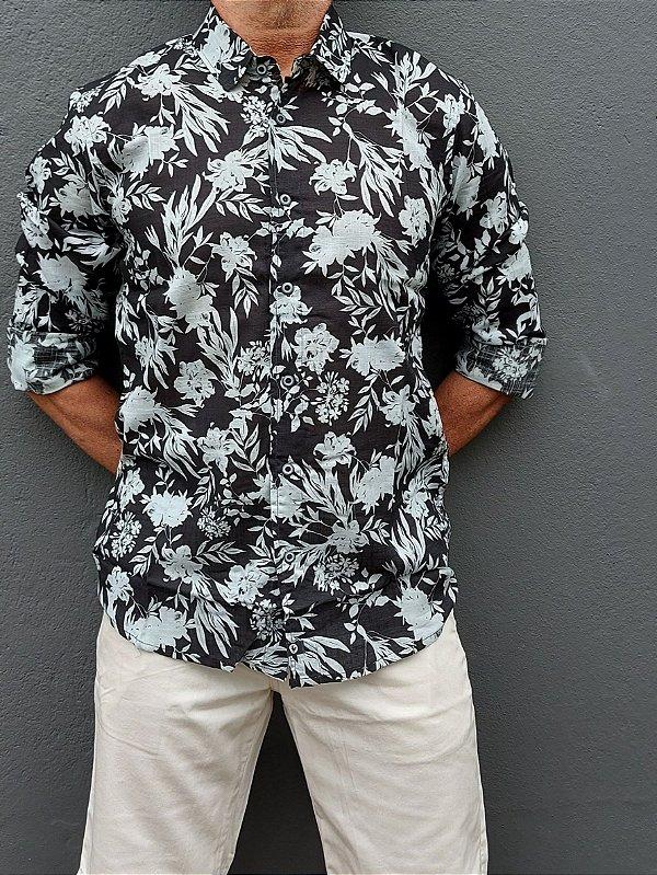 Camisa ML Hawaii
