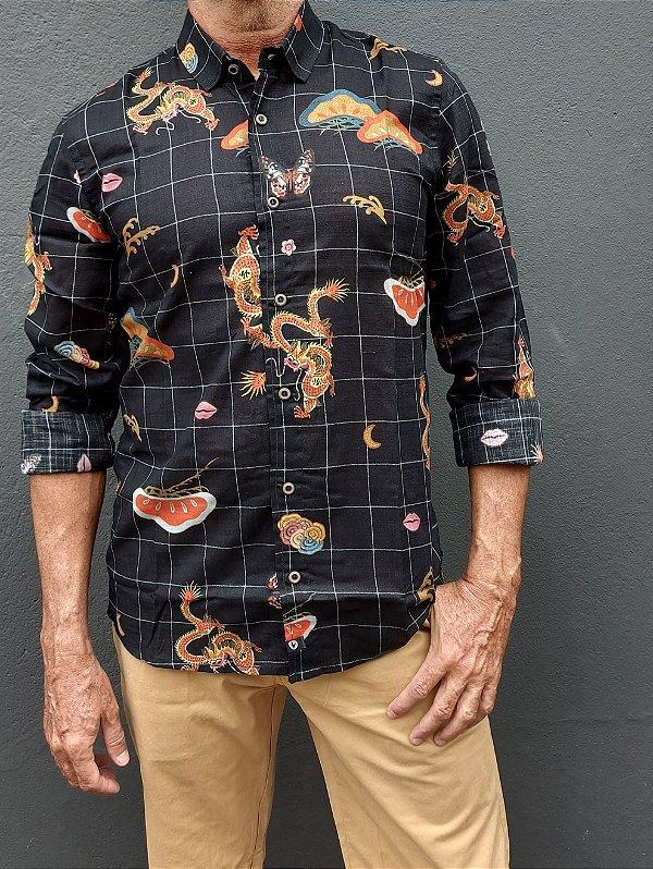 Camisa ML Hong Kong
