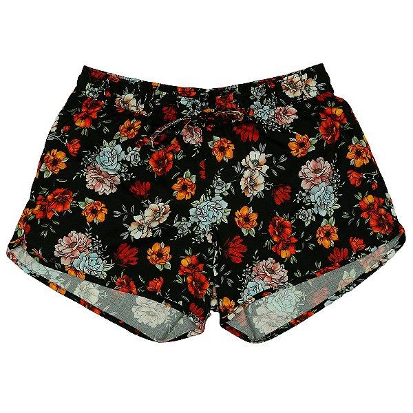 Shorts Praia Pretty Girl Floral