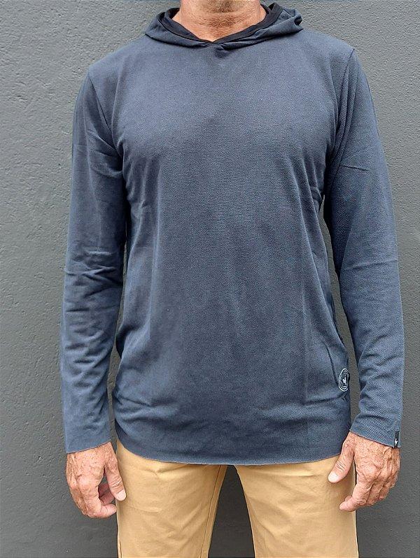 Camiseta Hard Washed Capuz ML