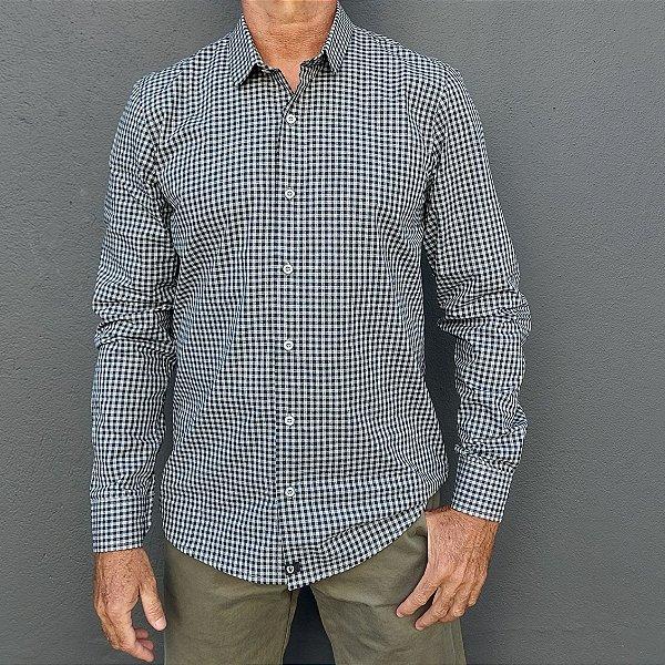 Camisa ML Xadrez Cinza