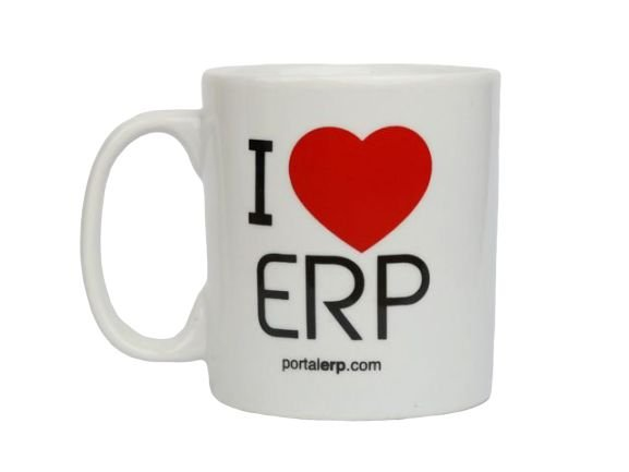 "Caneca ""I Love ERP"" 320ml"