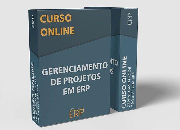 """Curso online """"Gerenciamento de Projetos em ERP"""""""