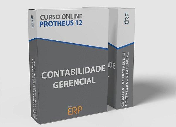 """Curso online """"Protheus 12 - Contabilidade Gerencial"""""""