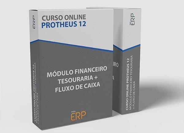 """Curso online """"Protheus 12 - Módulo Financeiro Tesouraria + Fluxo de Caixa"""""""