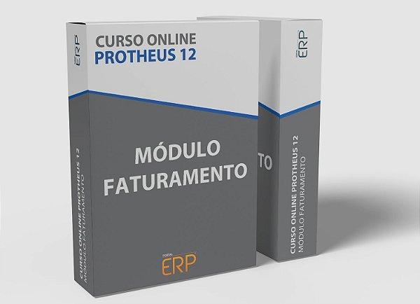 "Curso online ""Protheus 12 - Módulo Faturamento"""