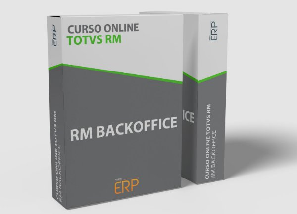 "Curso online ""Totvs RM - RM Backoffice"""