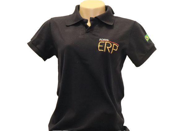 "Camisa Polo ""Portal ERP"" Feminino"