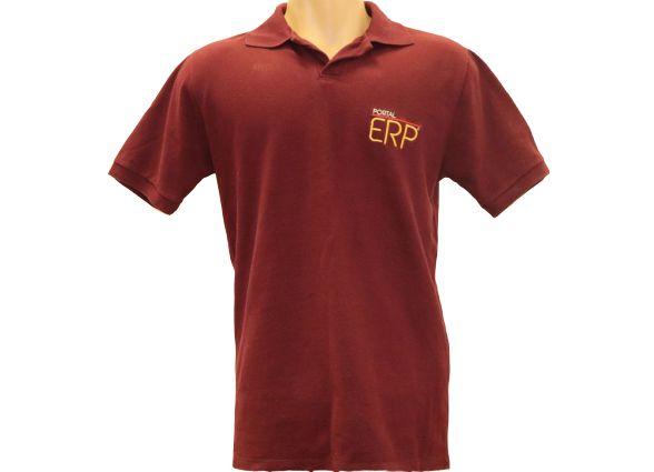 """Camisa Polo """"Portal ERP"""" Masculino"""