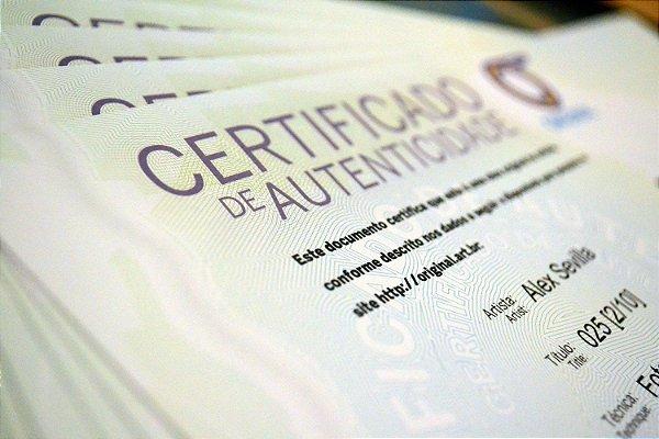 Certificados de Autenticidade de Obras de Arte