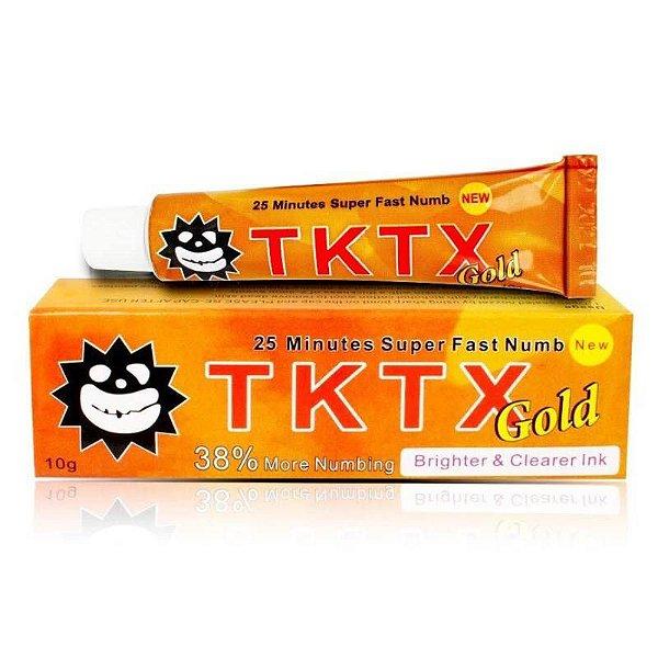 Pomada Anestésica TKTX Gold 38%