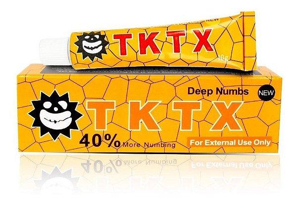 Pomada Anestesica TKTX Amarela Micropigmentação 40%