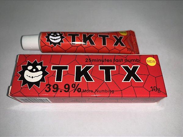 Pomada Anestésica TKTX Vermelha 39,9%