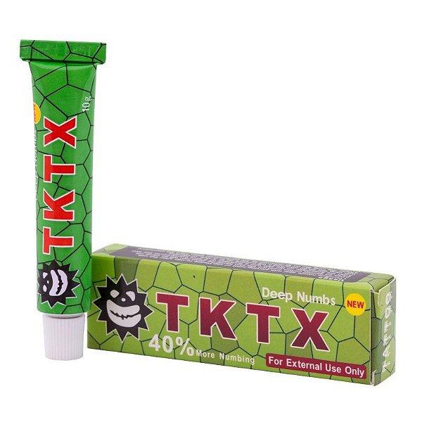 Pomada Anestesica TKTX Verde Micropigmentação 40%