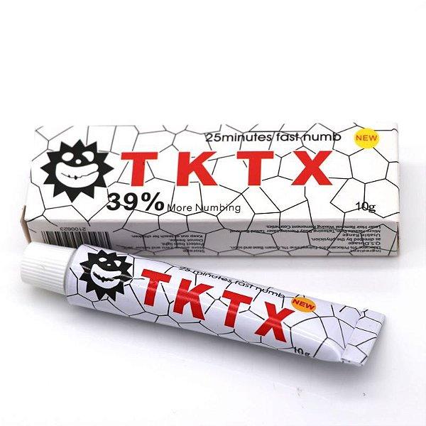 Pomada Anestésica TKTX Branca 39%