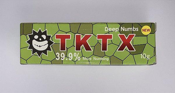Pomada Anestesica TKTX Verde Micropigmentação 39,9%