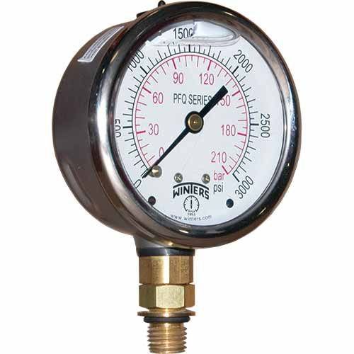 Manômetro INOX D.60/Esc. 0-2 bar e 0-30PSI