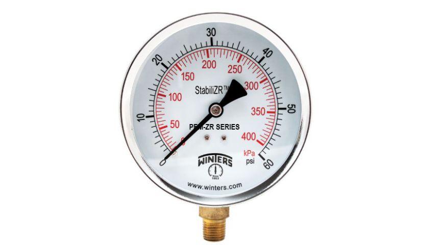 Manômetro D.60/Esc.0-7bar e 0-100PSI