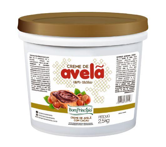 Creme de Avelã c/ Cacau Bom Principio 2,5Kg