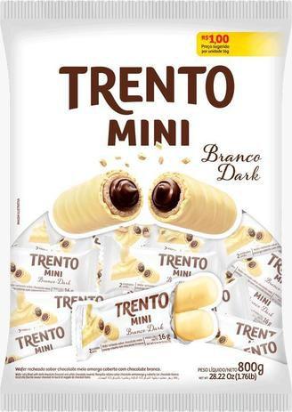 TRENTO MINI BRANCO DARK  800G - PECCIN