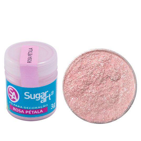 Pó Sugar Art Decoração Rosa Pétala 3g