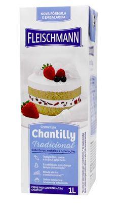 Chantilly Tradicional Fleischmann 1L