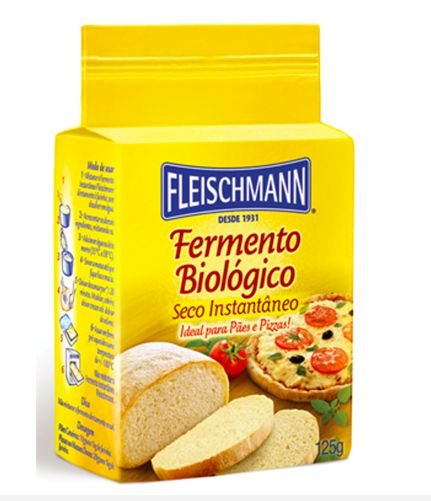 Fermento Biológico Fleischmann 125g